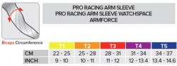 Compressport ArmFORCE Armwarmers Fluo - ochraniacz ramienia.