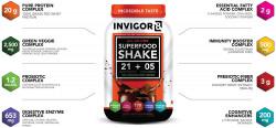 INVIGOR8 Superfood shake - 2x645g