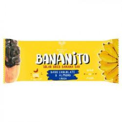 *Promocja* Bananito Dark Chocolate & Almond Crush 1 x 40 g