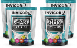 4 Porcje - INVIGOR8 Superfood shake - 43g