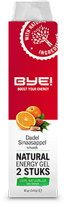 BYE Natural Energy Gel - 40 gram - 2 sztuki