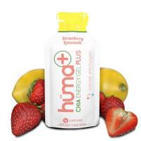 Hüma Chia Energy Gel PLUS - żel energetyczny Truskawka i Lemoniada