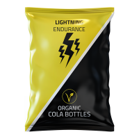 Żelki energetyczne Lightning Endurance Cola Bottles - 70g