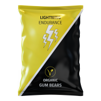 Żelki energetyczne Lightning Endurance Gum Bears - 70g