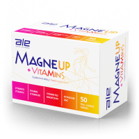 ALE MagneUP+Vitamins, 50 tab.