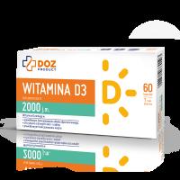 Witamina D3 2000 60 kaps.