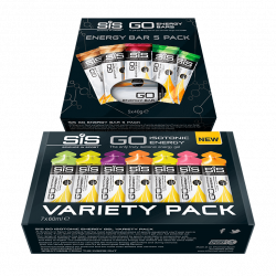 SIS GO Energy Bar Variety Pack + SIS GO Isotonic Energy Gel Variety Pack