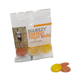 Squeezy Energy Fruit Gum - 40 x 50g
