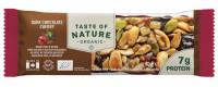 *Promocja* Baton Taste of Nature-40g-wiśnia/gorzka czekolada